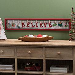 Believe In Elves Shadowbox