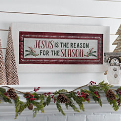Jesus is the Reason Framed Art
