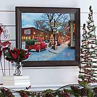 Route 66 Christmas Framed Art Print