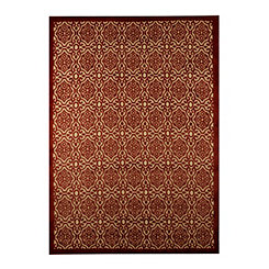 Red Dominion Area Rug, 5x7