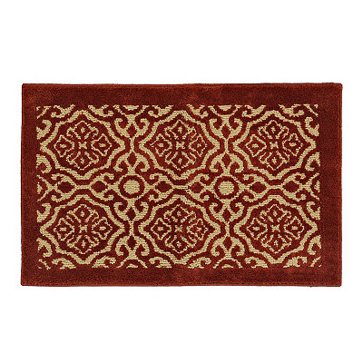 Red Dominion Scatter Rug