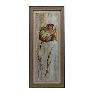 May's Arrival I Natural Framed Art Print
