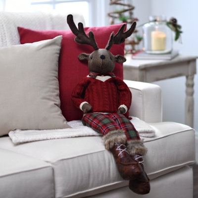 Sitting Reindeer Plush