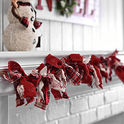 Plaid Fabric Garland