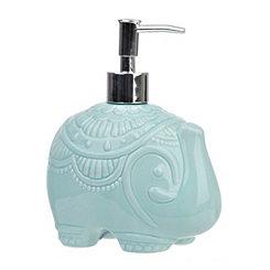 Turquoise Elephant Soap Pump