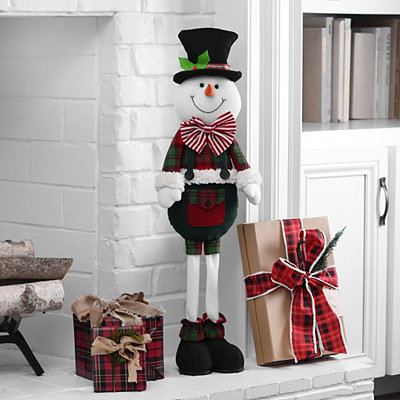Standing Snowman Plush