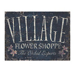 Village Flower Shoppe Canvas Art Print