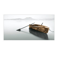 Copper Rowboat Canvas Art Print