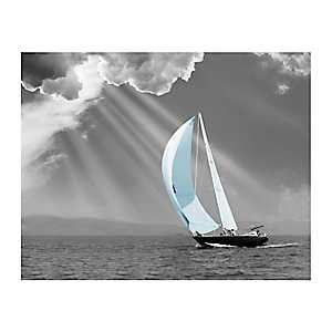 Sunbeam Sail Canvas Art Print