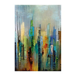 Steel Rising Canvas Art Print