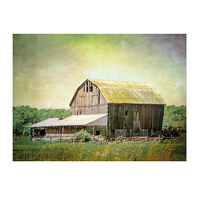 Old Farm Canvas Art Print