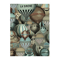 Les Balloons Canvas Art Print