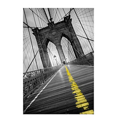 Bridge Divide Canvas Art Print