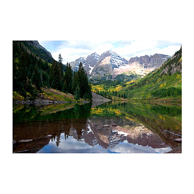 America the Beautiful Canvas Art Print