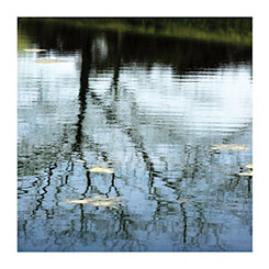 Abstracted Reflection II Canvas Art Print