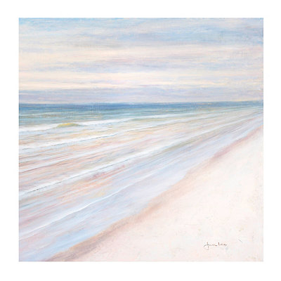 Evening Beach I Canvas Art Print