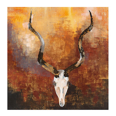True West II Canvas Art Print