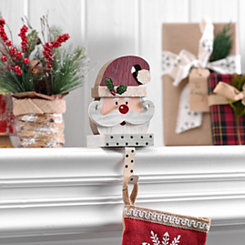 Polka Dot Santa Stocking Holder
