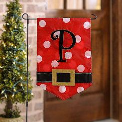 Santa Belt Monogram P Flag Set