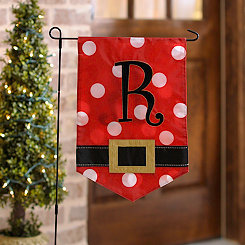 Santa Belt Monogram R Flag Set