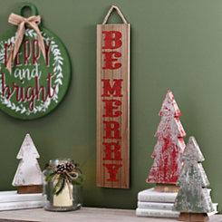 Be Merry Plaque