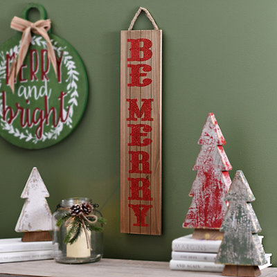 Be Merry Plaque