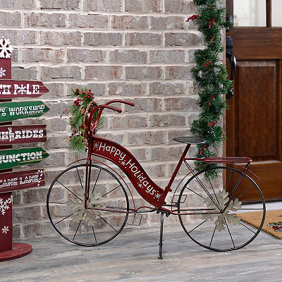 Happy Holidays Bicycle