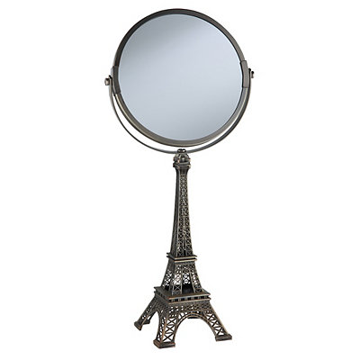 Bronze Eiffel Tower Magnifying Mirror