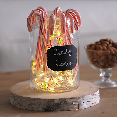 Candy Cane LED String Lights