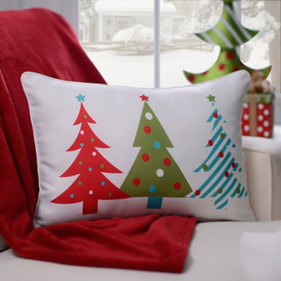 Trudie Trees Christmas Tree Pillow