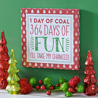 364 Days of Fun Wall Plaque