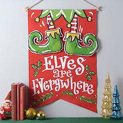 Elves Are Everywhere Banner