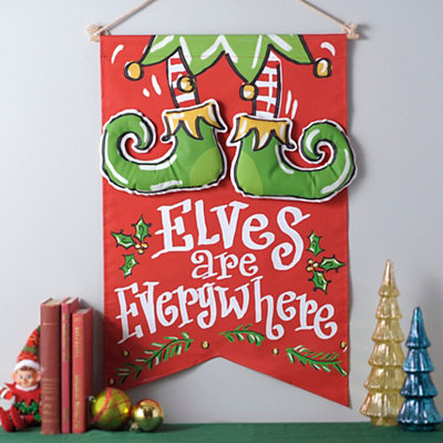 Elves Are Everywhere Banner
