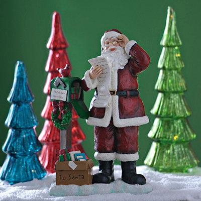 Santa Claus's Mailbox Statue