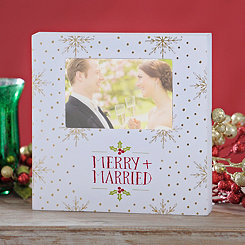 Merry + Married Photo Frame, 4x6