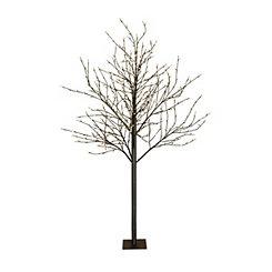 Warm White City Lights Pre-Lit Tree, 8 ft.