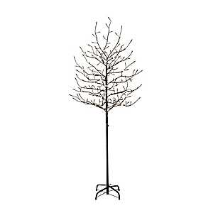 Warm White Pre-Lit Multi-function Tree, 6 ft.