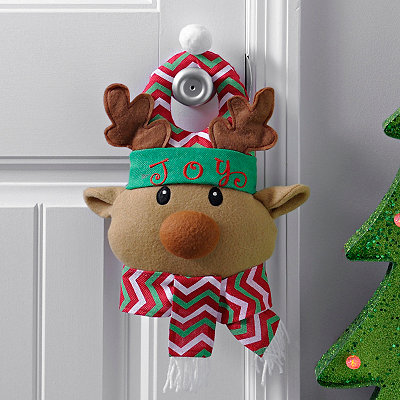Joy Reindeer Door Hanger