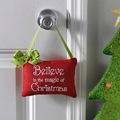 Believe In The Magic Door Hanger