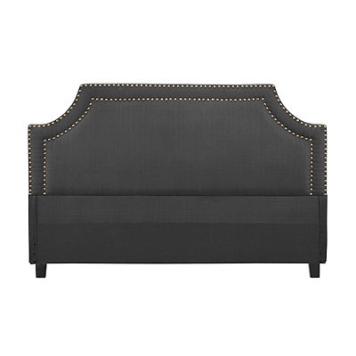 Leona Gray Queen Headboard