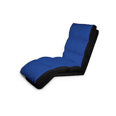 Blue Travez Convertible Lounger