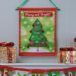 Merry & Bright LED Banner