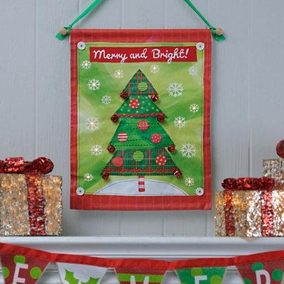 Merry & Bright LED Banner
