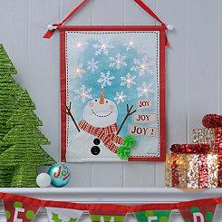 Joy Joy Joy LED Banner