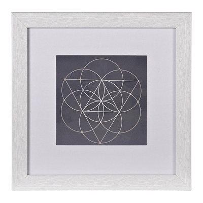 Spirograph Framed Gallery Print