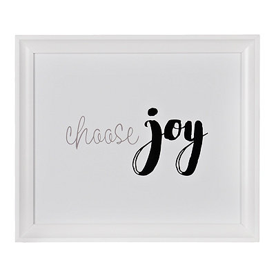 Choose Joy Framed Gallery Print