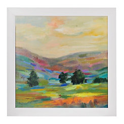 Landscape in Color Framed Gallery Print