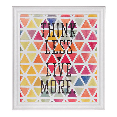 Live More Framed Gallery Print