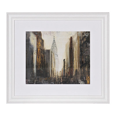 City Scene Framed Gallery Print