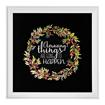 Amazing Things Framed Gallery Print